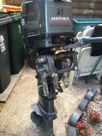 20hp mariner longshaft outboard motor