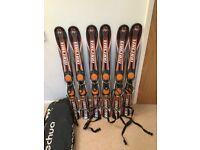 QUECHUA short skis for fun skiing (1 metre)
