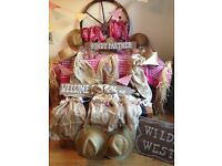 Fancy dress party accessories. Cowboys and Indians theme. Ideal for kids/adult birthday