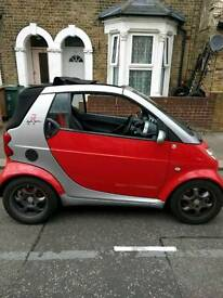 Smart brabus convertible with leather heated seats