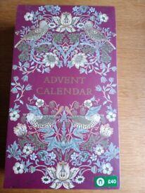 Boots William Morris Advent calendar