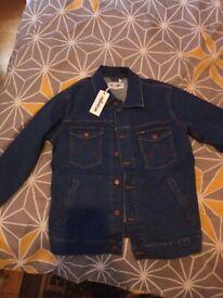 Men's Wrangler Denim Jacket (L)