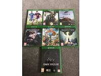 7 Xbox One Games (Dark Souls II, Ryse, Forza 5, Metal Gear Solid V (5) GZ, Sunset Overdrive + More)