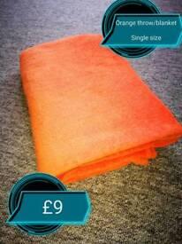 A throw / blanket!
