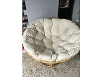 Papasan / Egg chair from The Pier