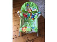 Fisher-price rainforest rocker