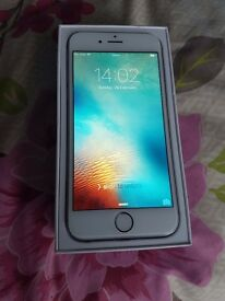 IPHONE 6 16GB , WHITE AND GREY BOXED , C-GRADE *EE*