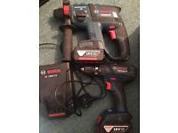 Bosch 18V Sds 3 mode & Combi hammer drill kit