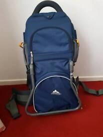 Bag back child carrier