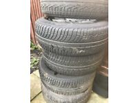 Mitsubishi l200 alloy weels and tyre