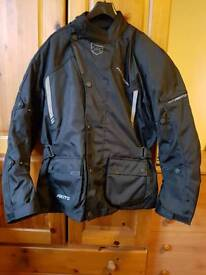 Textile Bike Jacket - Never Worn