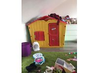 Plastic kids house