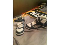 Size 7 addidas high tops