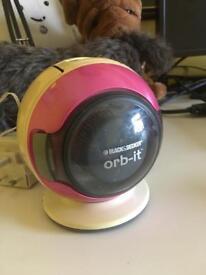 Black&Decker Orb-It handheld cordless dust buster vacuum cleaner