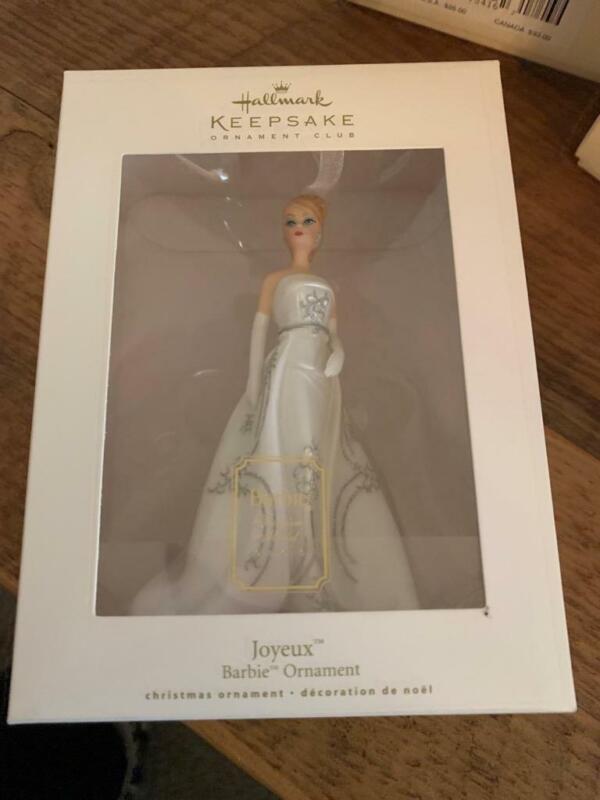 Hallmark Keepsake Ornament Barbie Club Exclusive Joyeux 2007 Fashion Model