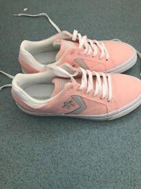 New Converse Distrito Pink Women's Shoes Size 7
