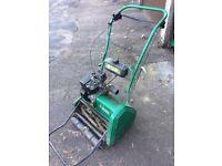"""Qualcast Suffolk Punch 17"""" cut petrol roller mower"""