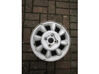 hyundai getz alloy wheel.