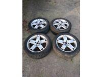 4 x 100 alloy wheels 16 inch