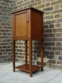 FREE DELIVERY Tall Vintage Wooden Cabinet Retro Furniture