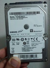 500GB 2.5 inch Hard Drive - Samsung Spinpoint ST500LM012