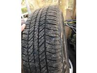 Brand New Bridge Stone Tyres 265/65/17 On L200 Wheels