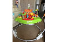 Fisher Price Unisex musical jump a roo
