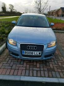 2008 Audi A3 1.9TDI Full Service History excellent car £2250ono