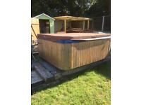 Jacuzzi hot tub 6/7 person