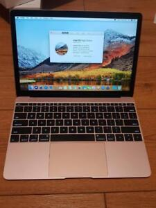 Rose Gold Macbook 12 Inches - Warranty 29 April 2018 - Apple Receipt
