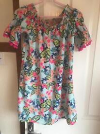 Girls summer dress size 9