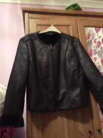 Ladies black jacket 18