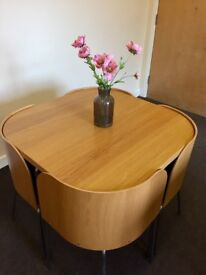 Ikea Space Saver Table and Chairs, 6 sets available, ideal for a small kitchen or a small cafe