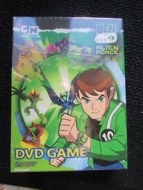 BEN 10 ALEIN FORCE DVD GAME