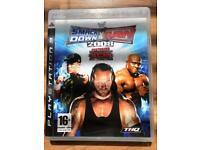 Smackdown vs Raw PS3 game