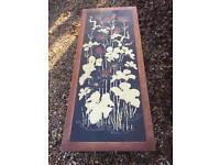 Unique lily design coffee table