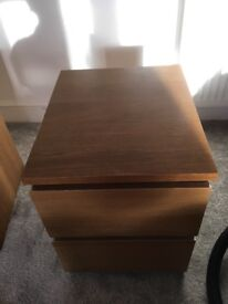 Ikea bedside draws x 2
