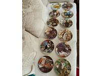 "Set 12 Royal Doulton ""Cats of Character"" Collector Plates (REDUCED PRICE)"
