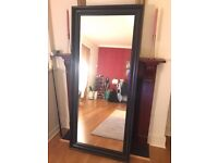 Dark Oak Coloured Mirror (74x165 cm)