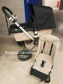 Excellent rare bugaboo cameleon 2 pushchair