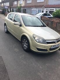 Vauxhall astra excellent condition 04 plate LOW MILEAGE