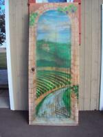 "Wine room door - ""Tuscany"" - 32"" wide - NEW PRICE!!"