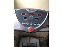 Dynamix Motorised Treadmill with incline with an adjustable speed and a LCD display - FULLY FOLDABLE