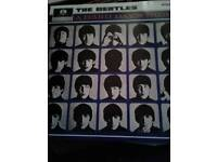 Vinyl record the beatles.