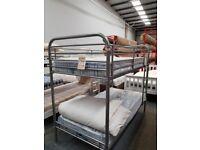 Metal 3ft Bunk Bed