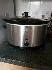 Slow cooker 5.5L (tesco)