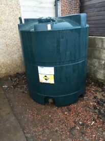 heating oil tank 1300litres