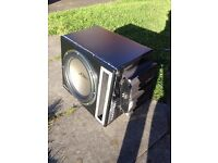 Mutant Car Subwoofer and Amplifier