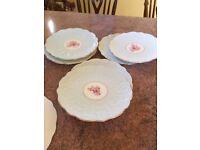 Six gorgeous Aynsley plates