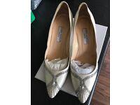 Stunning joseph azagury Bridal Shoes size 8